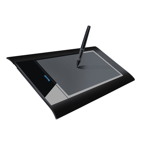 """Turcom 8"""" x 5"""" Huion Graphic Drawing Touch Tablet with Capture Pen"""