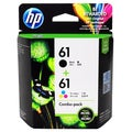 HP 61 Black/ Color Ink Cartridge Set (Pack of 2)
