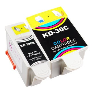 Sophia Global Compatible Ink Cartridge Replacement for Kodak 30 Black and Color (Pack of 2)