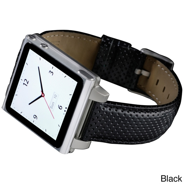 Hex Vision Leather Watch Band for iPod Nano Gen 6