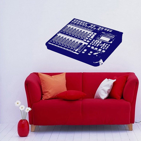 Soundboard Vinyl Wall Decal