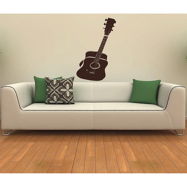 Guitar Vinyl Wall Decal