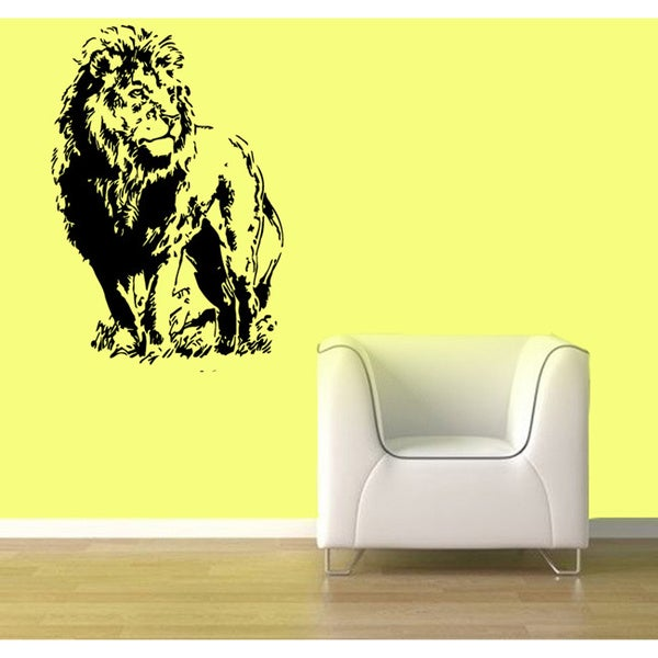 Lion Vinyl Wall Decal