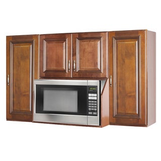 Brandywine Microwave Wall Cabinet Unit Overstock Shopping Big Discounts On Kitchen Cabinets