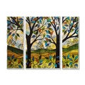 Peggy Davis 'Folkart Trees' Metal Art
