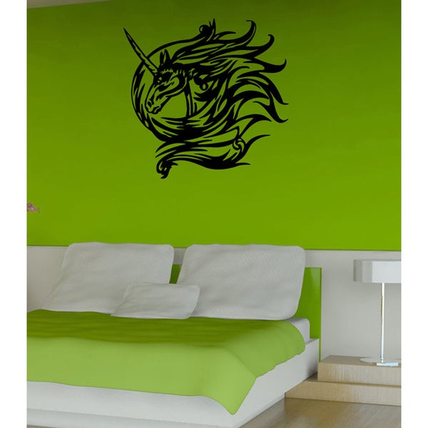 Unicorn Vinyl Wall Decal