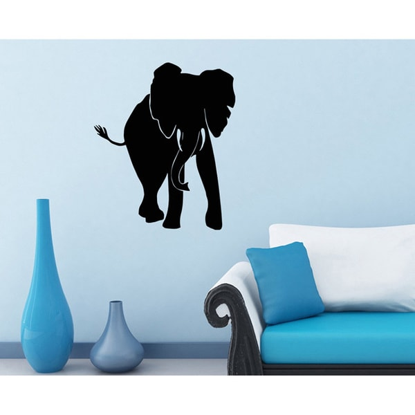 Africa Elephant Vinyl Wall Decal