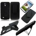 BasAcc Black Holster with Clip for Samsung Galaxy S4 i9500