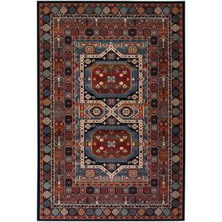 Maharaja/ Ebony Persian New Zealand Wool Rug (6'6 x 9'10)