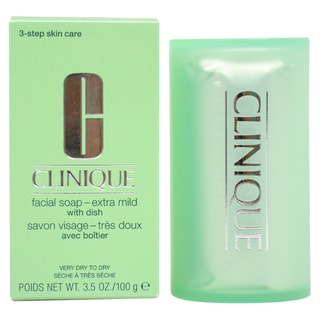 Clinique 3.5-ounce Facial Soap Extra Mild with Dish