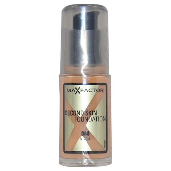 Max Factor Bronze Second Skin Foundation