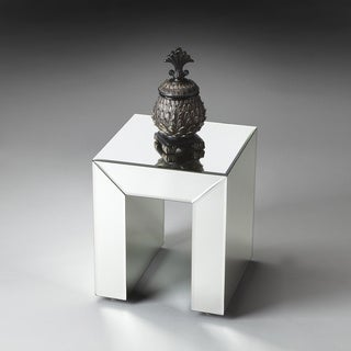 Clear Mirrored Bunching Table