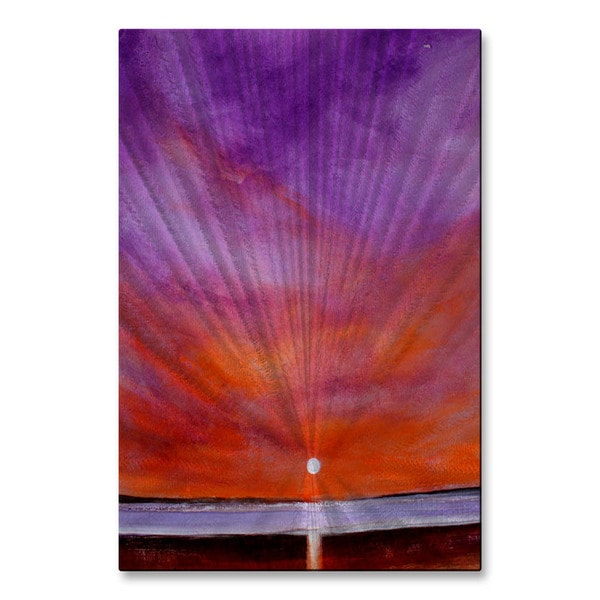 Toni Grote 'Complementary Skies' Metal Wall Art