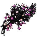 Fuchsia Flower Fashion Pin Brooch