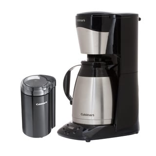 Cuisinart Programmable Auto Brew 12-cup Coffee Maker with Bonus Coffee Grinder