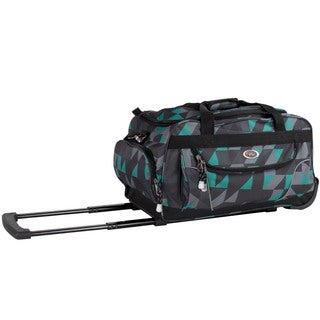 CalPak 'Champ' Puzzle 21-inch Carry On Rolling Upright Duffel Bag