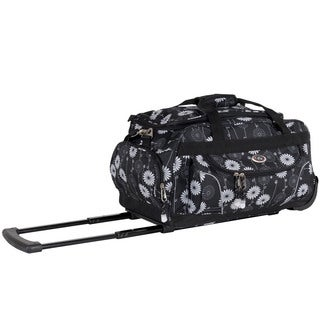 CalPak 'Champ' Mono Garden 21-inch Carry On Rolling Upright Duffel Bag