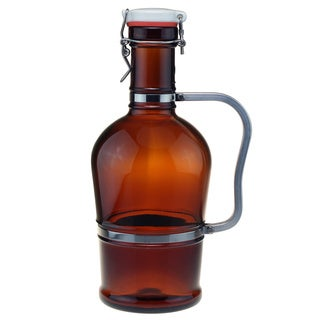 Classic Amber Beer Growler