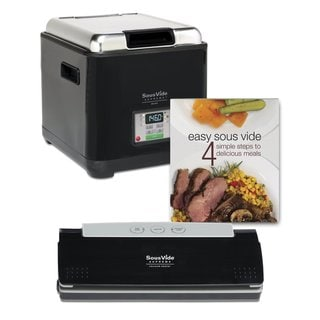 Sous Vide Supreme PSV-00145 Demi Promo Pack Black Cooking System