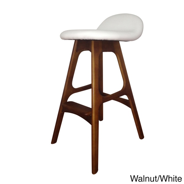 Bloom Walnut Bar Stools