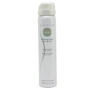 Biosilk Finishing Spray Firm Hold 2.6-ounce Hair Spray