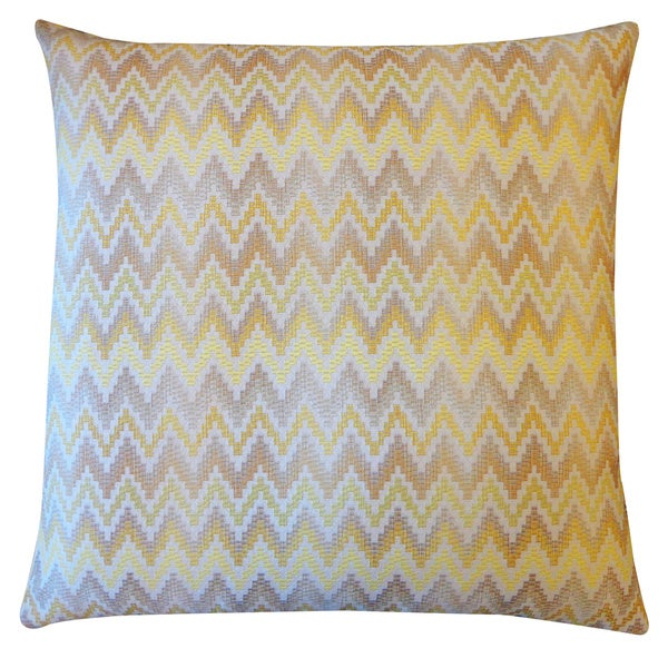 Jiti Luxe Gold Throw Pillow
