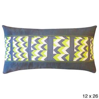 Sharp Green Throw Pillow