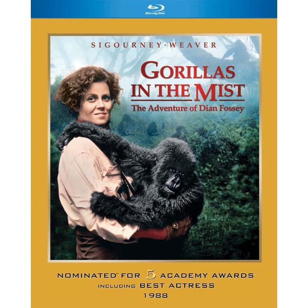 Gorillas in the Mist (Blu-ray Disc) 12081000
