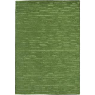 Vinyasa Halcyon Sage Green Rug (8' x 11'6)