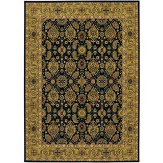 """Royal Kashimar Vase Print Persian Wool Rug (7'10"""" x 11'1)"""