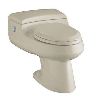 Kohler San Raphael Sandbar Comfort Height 1-piece Elongated Toilet