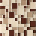 Instant Glass Peel and Stick Mosaic Taupe Tile