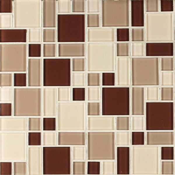 instant mosaic 12 inch x 12 inch peel and stick multi material tile 6