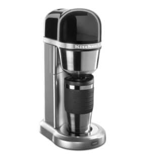 KitchenAid KCM0401CCU Contour Silver Personal Coffee Maker