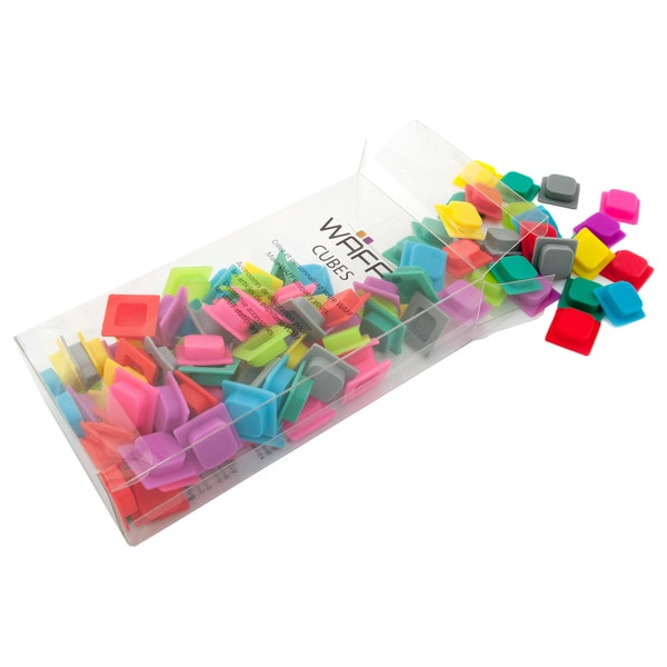 WAFF Assorted Color Cubes (Pack of 100)