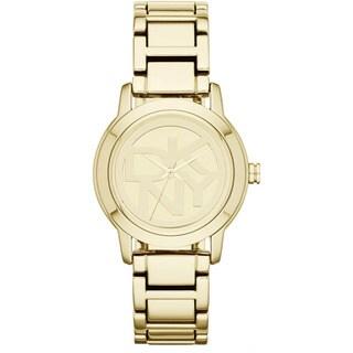 DKNY Women's NY8876 'Crosswalk' Gold Tone Stainless Steel Watch