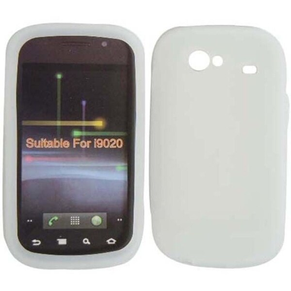 BasAcc Clear Silicone Case for Samsung Google Nexus S 4G i9020
