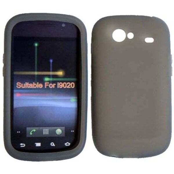 BasAcc Smoke Silicone Case for Samsung Google Nexus S 4G i9020