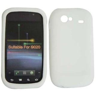 BasAcc White Silicone Case for Samsung Google Nexus S 4G i9020