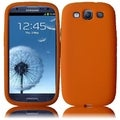 BasAcc Orange Silicone Case for Samsung Galaxy S3 i9300/ i747/ L710
