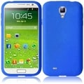 BasAcc Blue Silicone Case for Samsung Galaxy S4 i9500