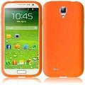 BasAcc Orange Silicone Case for Samsung Galaxy S4 i9500