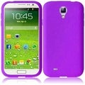 BasAcc Purple Silicone Case for Samsung Galaxy S4 i9500