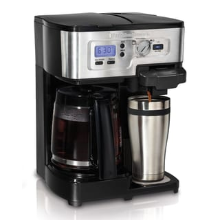 Hamilton Beach 2-Way Deluxe Brewer Coffemaker