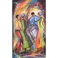 Dancing in Paris Canvas Painting (Malawi)