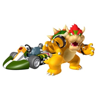 Super Mario Brothers 1:8 Scale Remote Control Bowser Kart