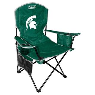 Coleman NCAA Michigan State Spartans XL Cooler Quad Chair