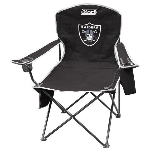Coleman NFL Oakland Raiders XL Cooler Quad Chair 12083155