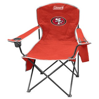 Coleman NFL San Francisco 49ers XL Cooler Quad Chair