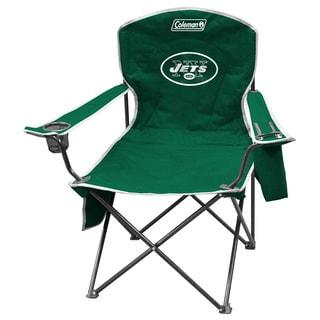 Coleman NFL New York Jets XL Cooler Quad Chair